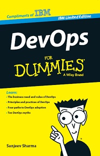 Portada devops for dummies