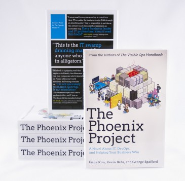 El libro The Phoenix Project